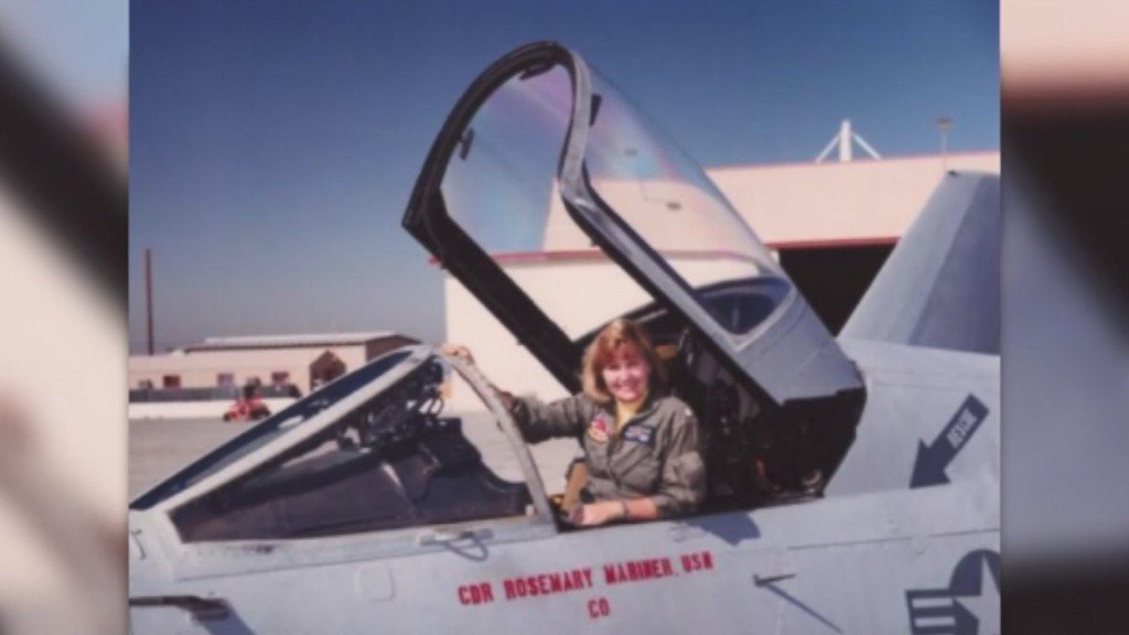 Navy's first all-female flyover will honor woman who helped make it possible