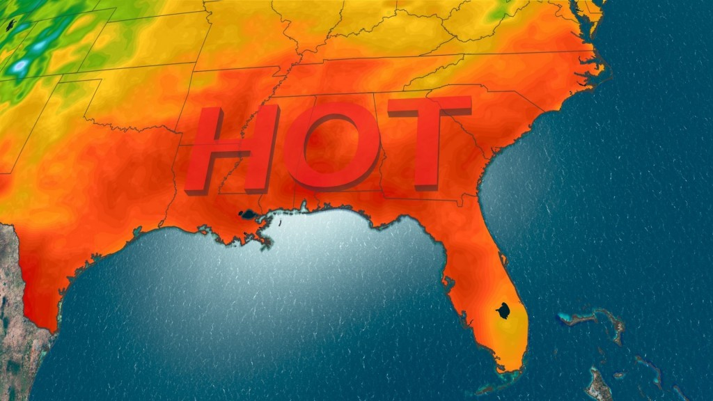 Memorial Day heat wave scorching the South