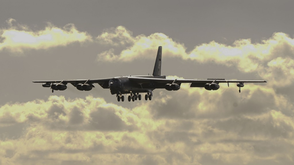 US Air Force deploys B-52 bombers to Europe in message to Russia
