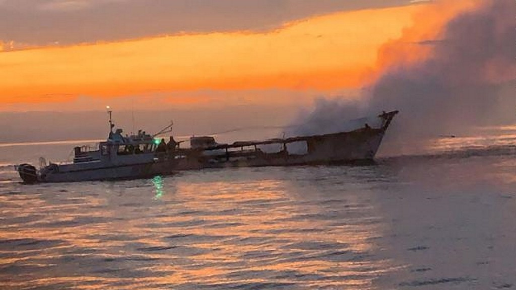Crew member who survived dive boat fire sues owners
