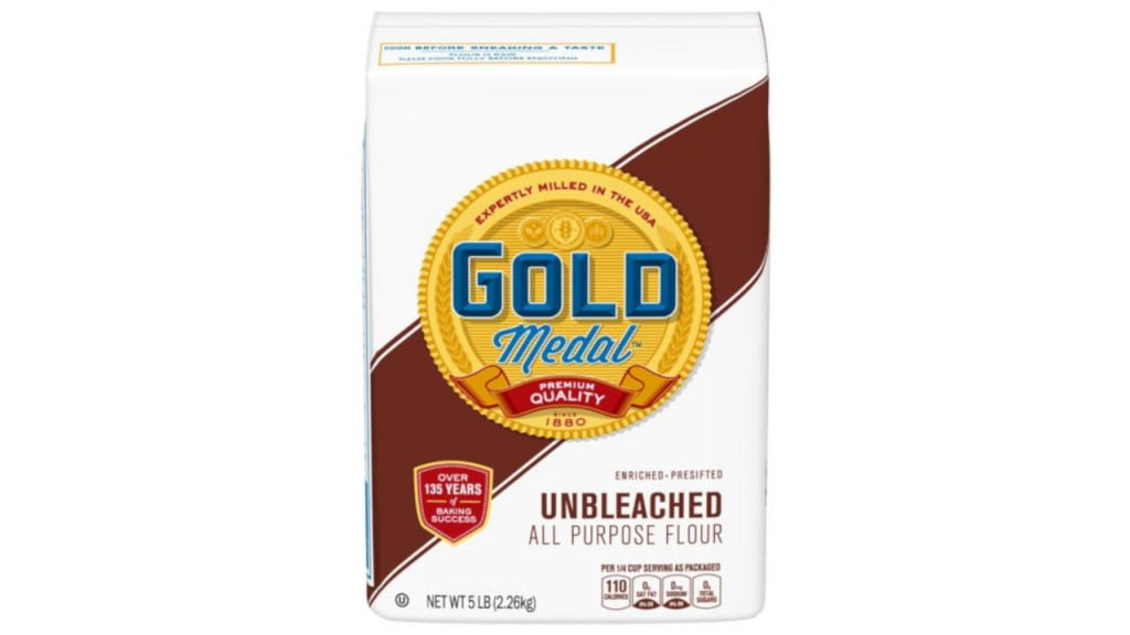 General Mills recalls 5-pound bags of Gold Medal flour