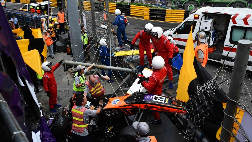 'Positive outlook' for F3 racer after 9-hour spinal operation