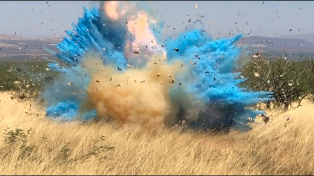Gender reveal party ignited a 47,000-acre wildfire