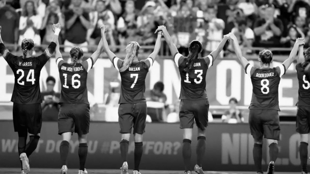 New Nike ad honors US women's World Cup triumph