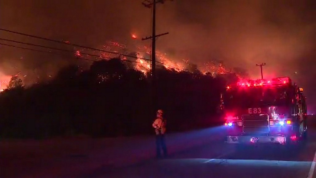 Thousands evacuated amid numerous California fires