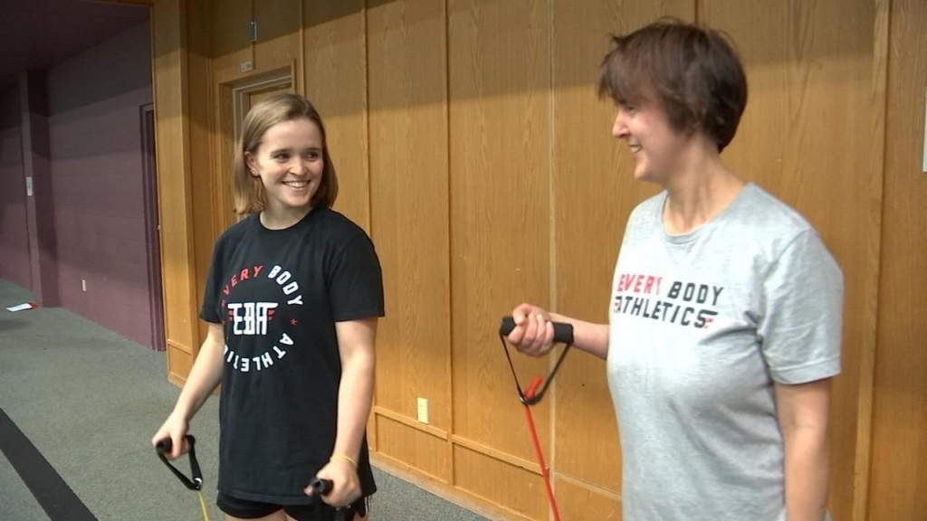 Oregon gym helps adults with disabilities
