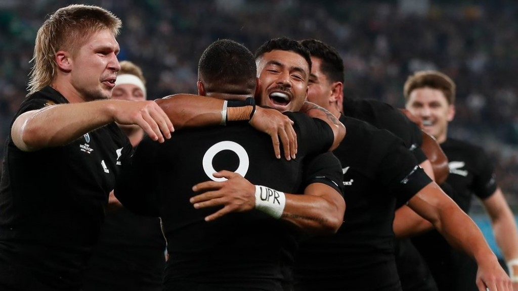 All Blacks reach Rugby World Cup semifinals
