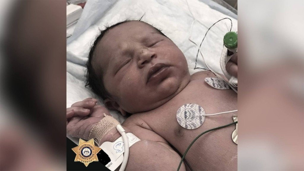 Thousands want to adopt baby found plastic bag in Georgia