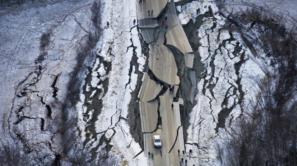 Alaska residents try to return to normalcy after earthquake rocks region
