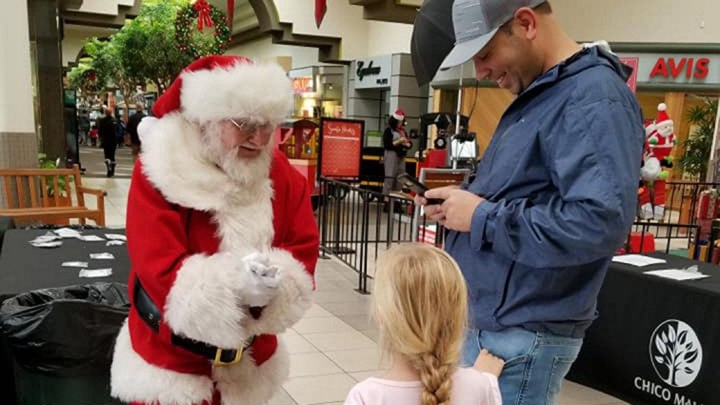 Mall Santa in town near Paradise gets heartbreaking requests from kids