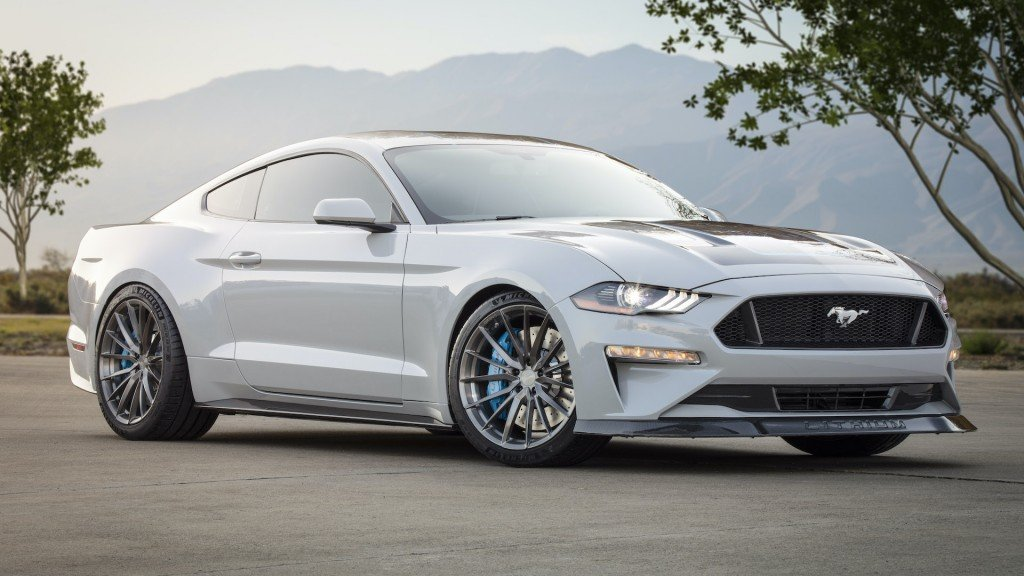 Ford reveals electric Mustang with 'stunning' acceleration
