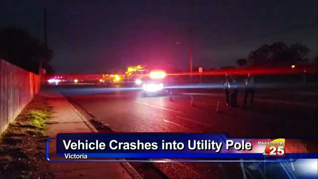 Vehicle Strikes Utility Pole On John Stockbauer
