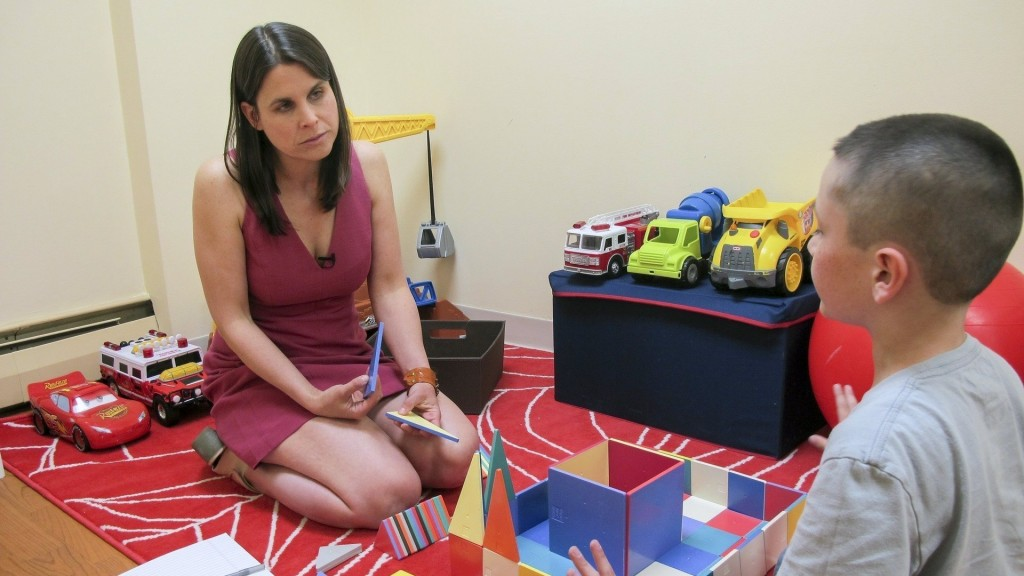 How quiet headphones and visual guides help autistic patients