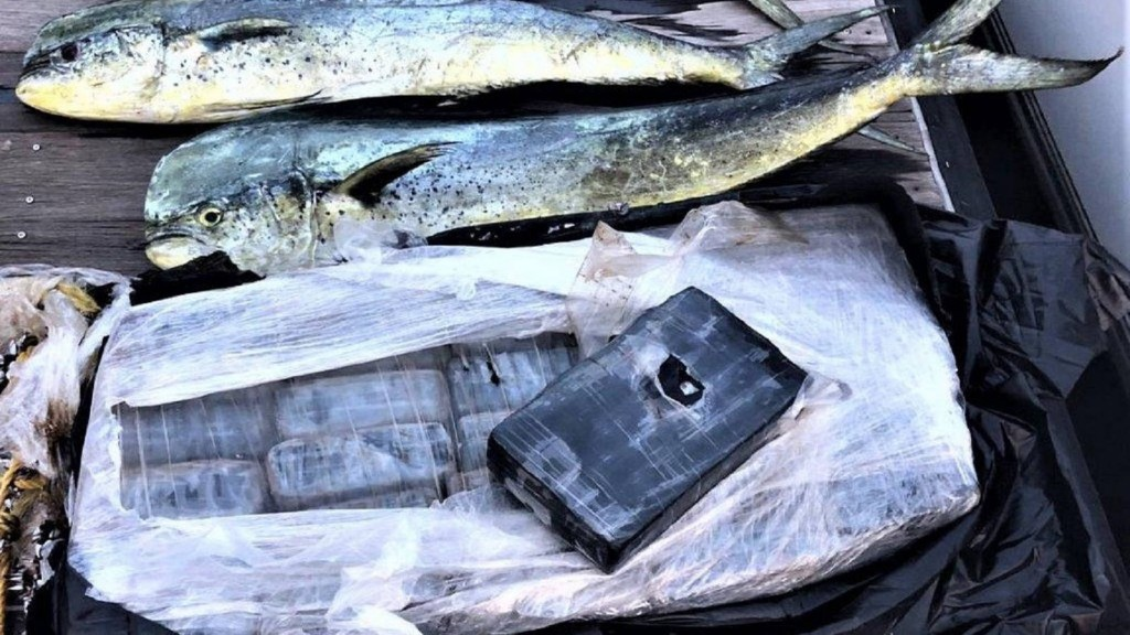 Fishermen reel in cocaine that may be worth up to $1 million