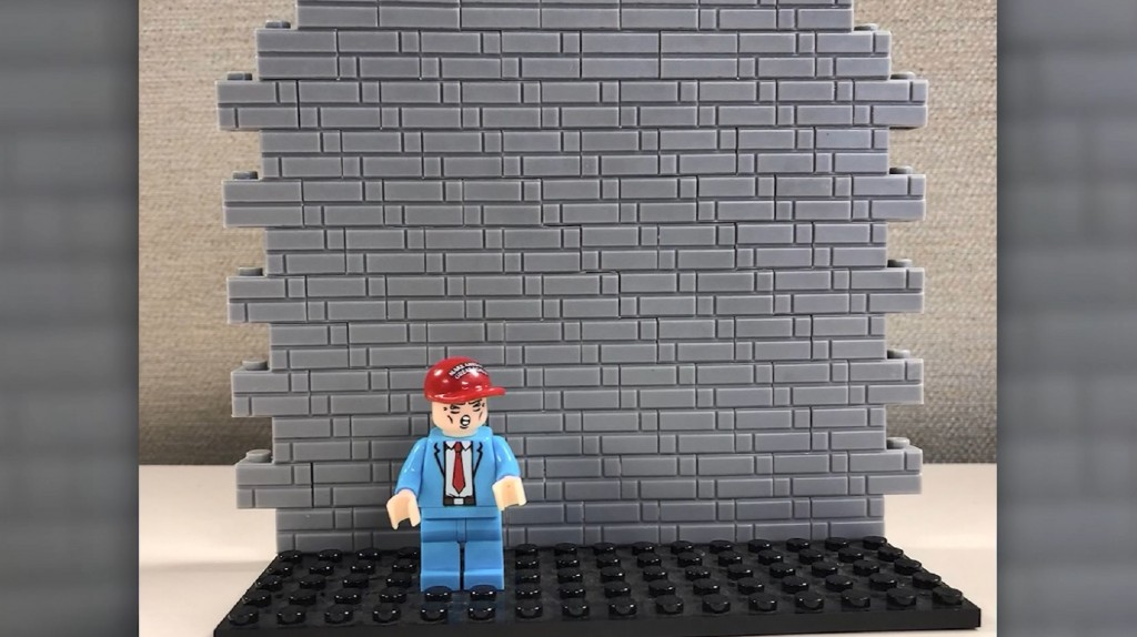 There's a new MAGA 'Build the Wall' toy