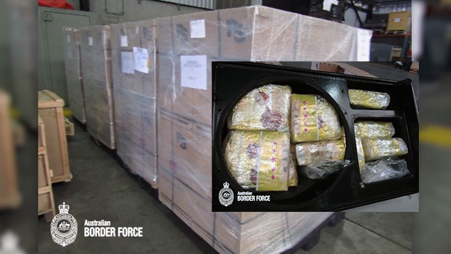 Australian authorities make largest onshore meth bust in country's history