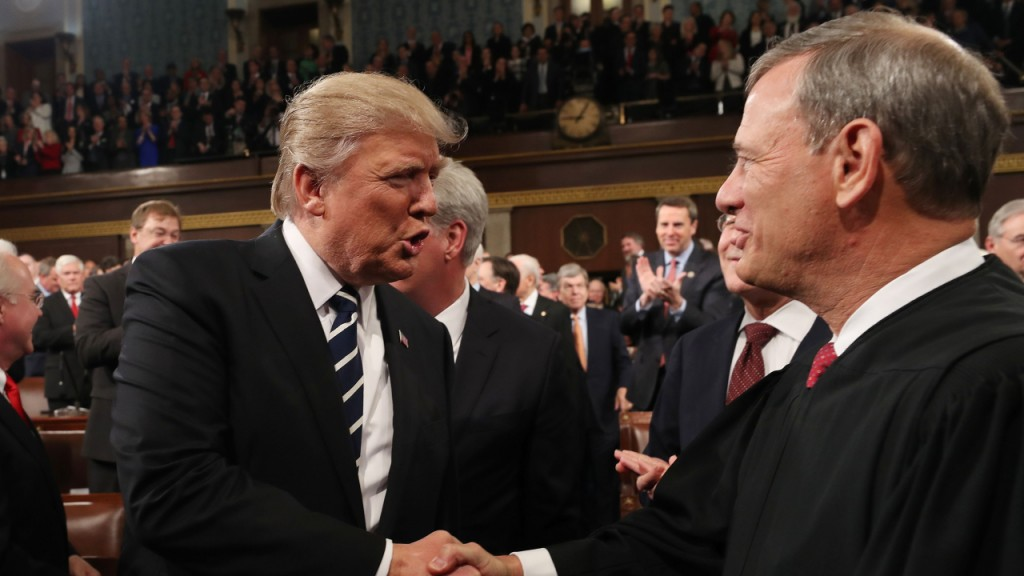 How John Roberts might oversee a Senate impeachment trial