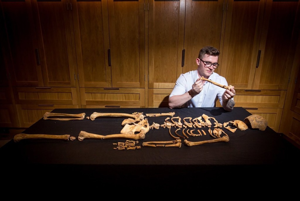 Skeletons of a woman, child discovered under Tower of London's chapel