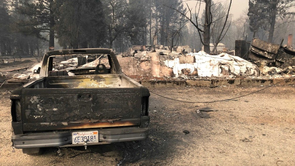 Rain to bring more misery for Camp Fire evacuees