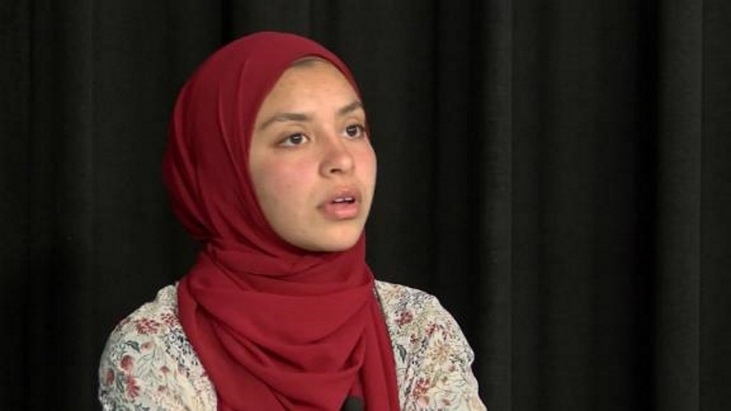 High school athlete ran personal best, disqualified for hijab