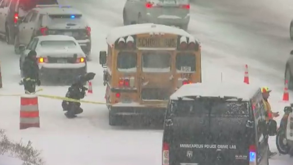 Minn. man charged with attempted murder after firing at school bus
