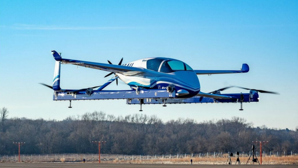 Boeing completes first autonomous air taxi flight