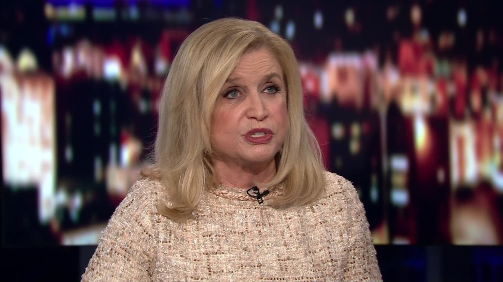 Carolyn Maloney elected 1st woman to lead House Oversight Committee