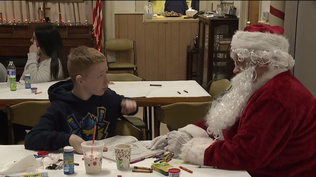 'Sensitive Santa' offers Christmas for everyone