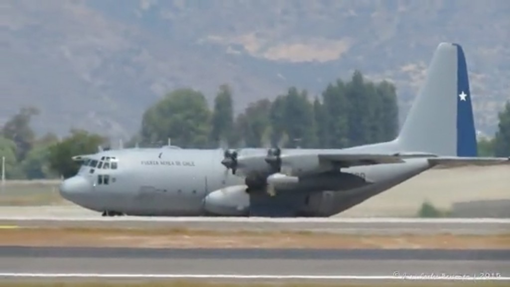 Passengers aboard Chilean Air Force plane presumed dead