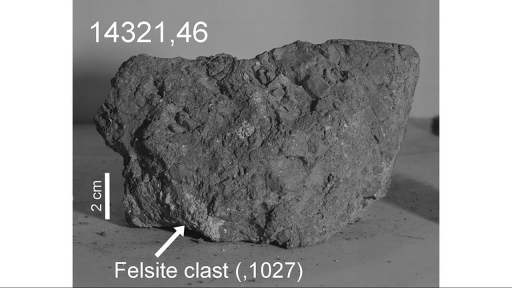 Earth's oldest rock was found by Apollo 14 astronauts — on the moon