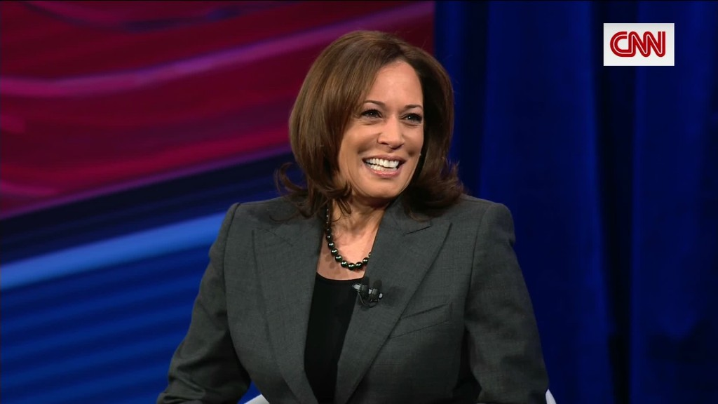 Kamala Harris takes on questions about her 'blackness'