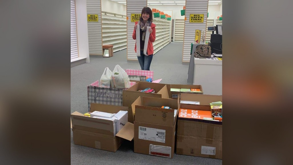 Woman buys out Payless store to help Nebraska flooding victims