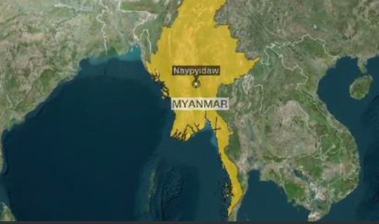 Myanmar shuts down internet in conflict areas