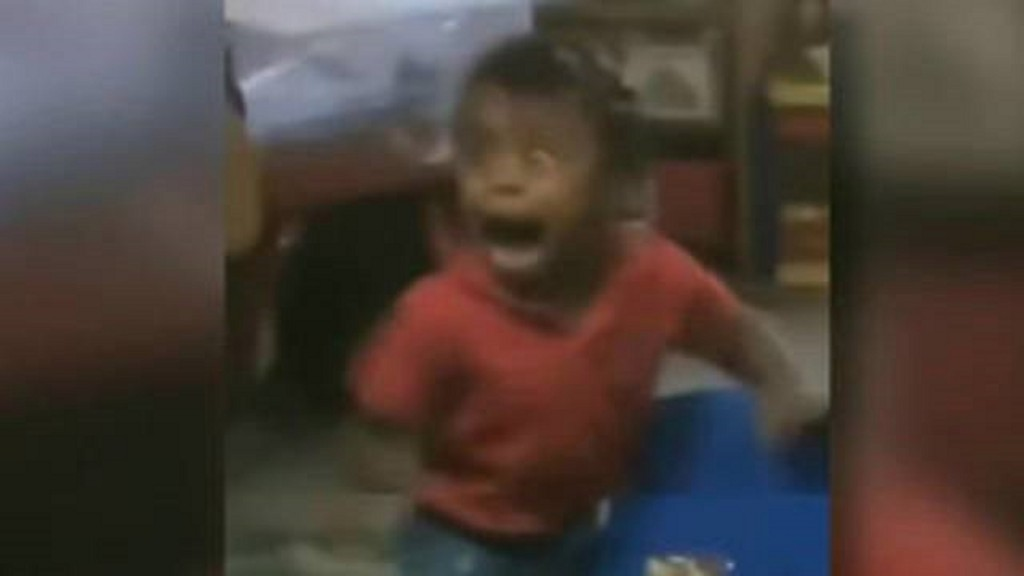 Family sues over viral video of scared toddler