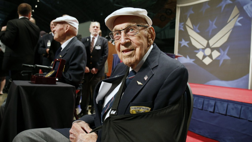 Dick Cole, last of the Doolittle Raiders, dies at 103