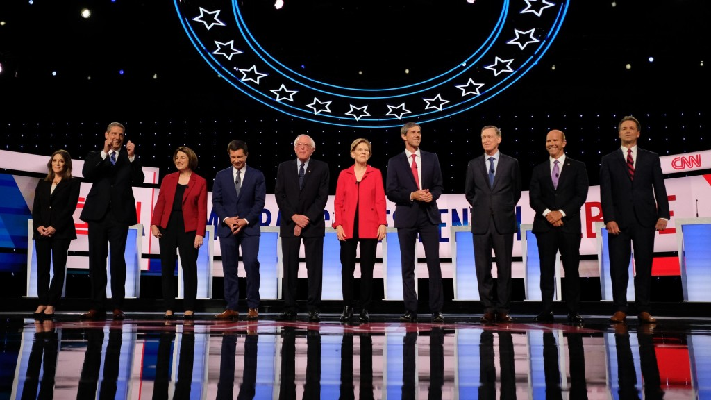 Democratic debates in Detroit