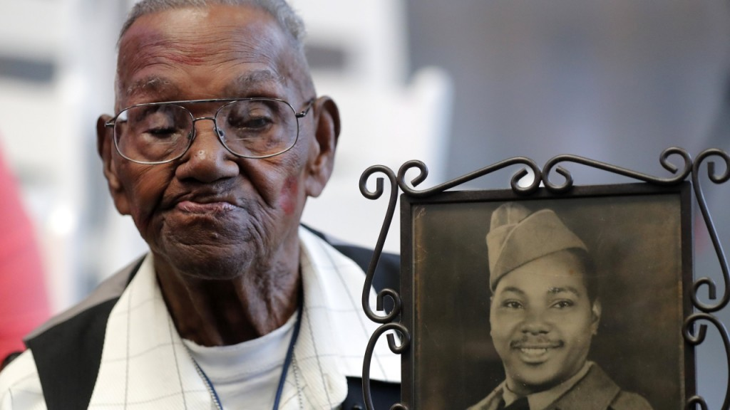 Oldest living American World War II veteran is 110