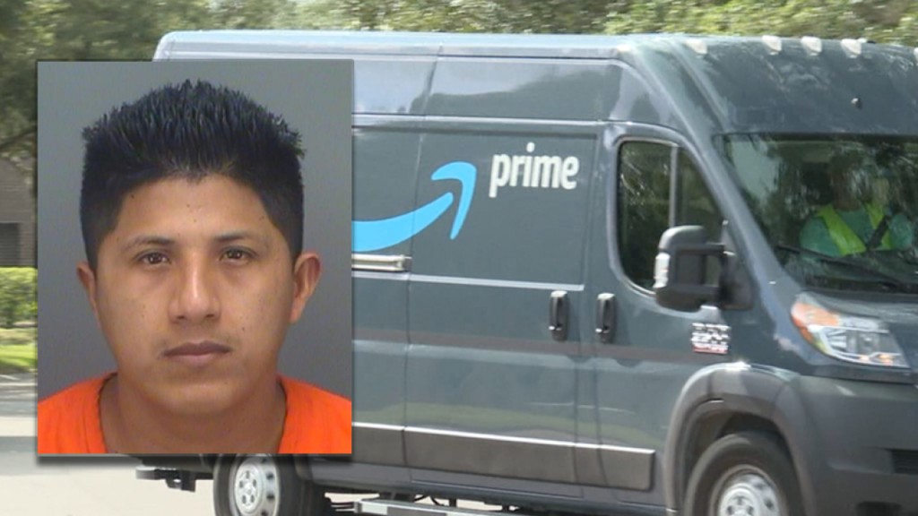Amazon delivery driver arrested for stealing packages