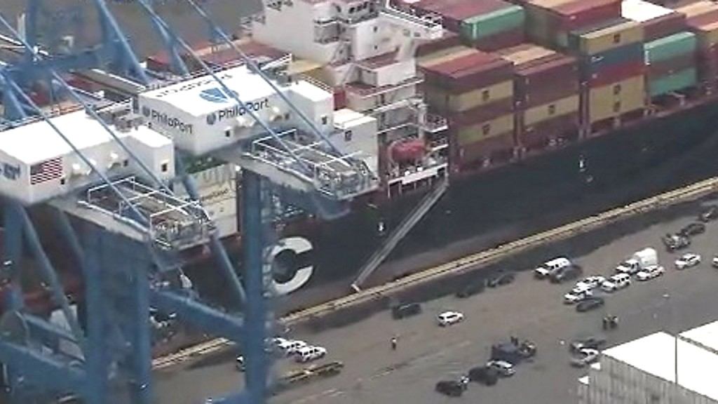 Cargo ship owned by JPMorgan Chase seized with 20 tons of cocaine