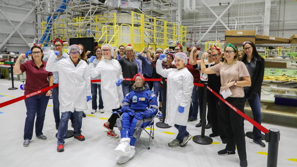 Rosie the Riveter test dummy to be first to fly on Boeing's Starliner