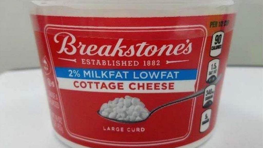 Breakstone's Cottage Cheese recalled