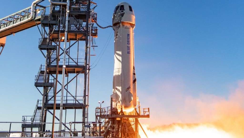 Jeff Bezos's Blue Origin launches 12th test flight