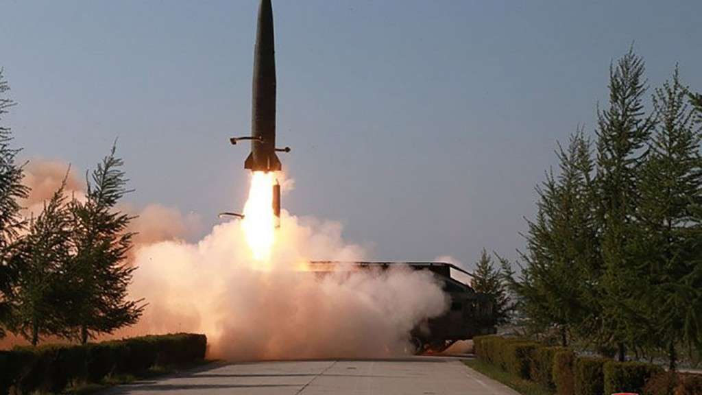 North Korea says it test-fired 'super large multiple rocket launcher'