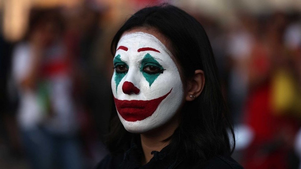 In protests around the world, one image stands out: The Joker