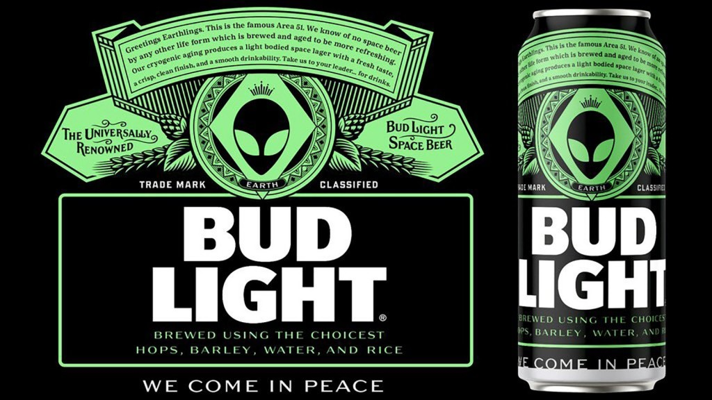 Bud Light offers free beer to Area 51 aliens