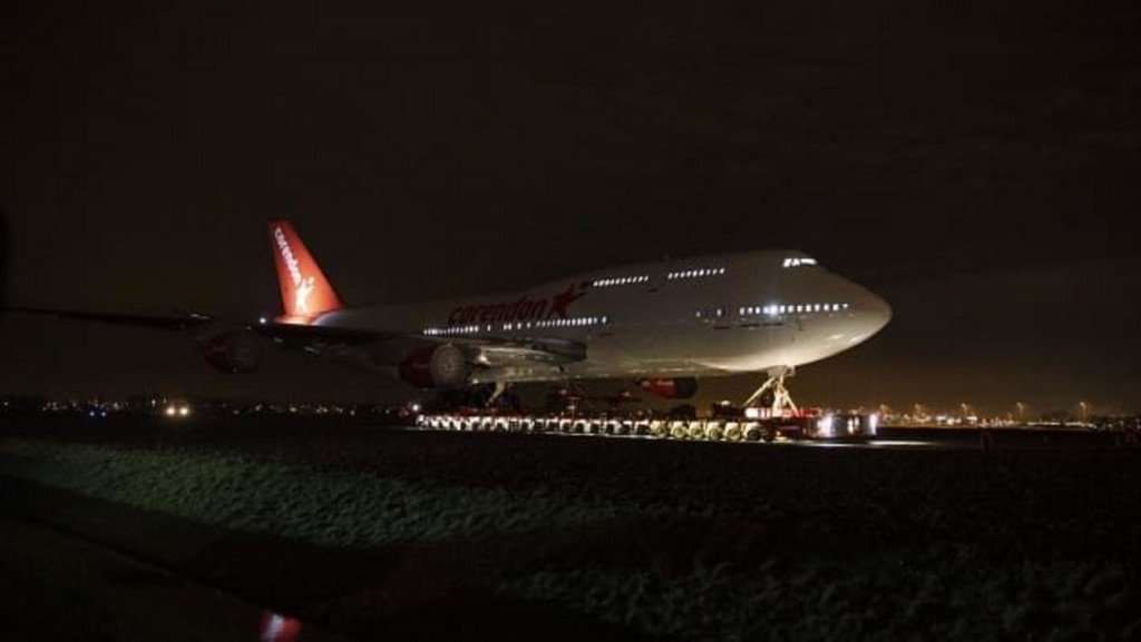 Repurposed Boeing makes final journey to become mysterious hotel attraction