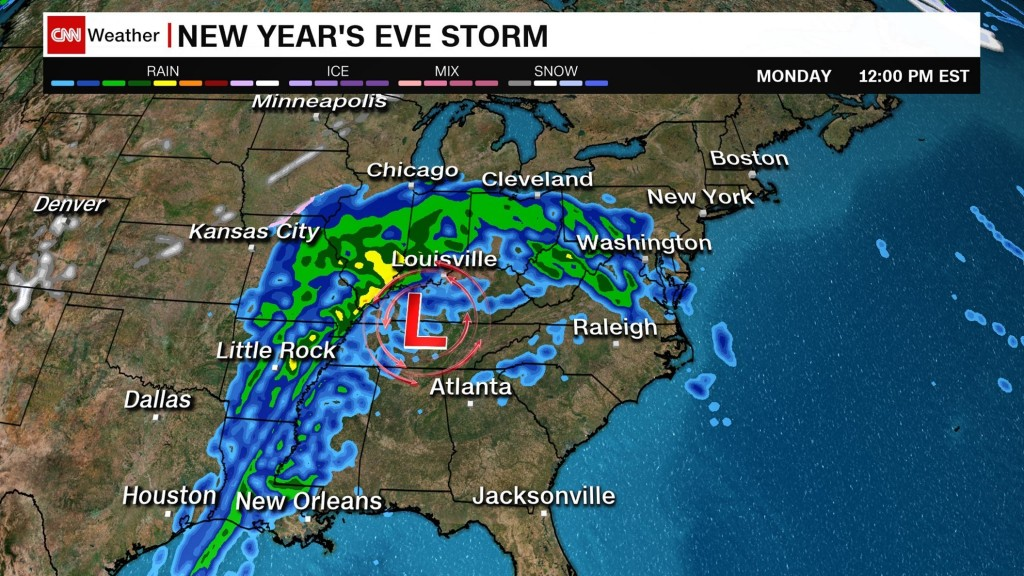 New storm expected to ring in 2019