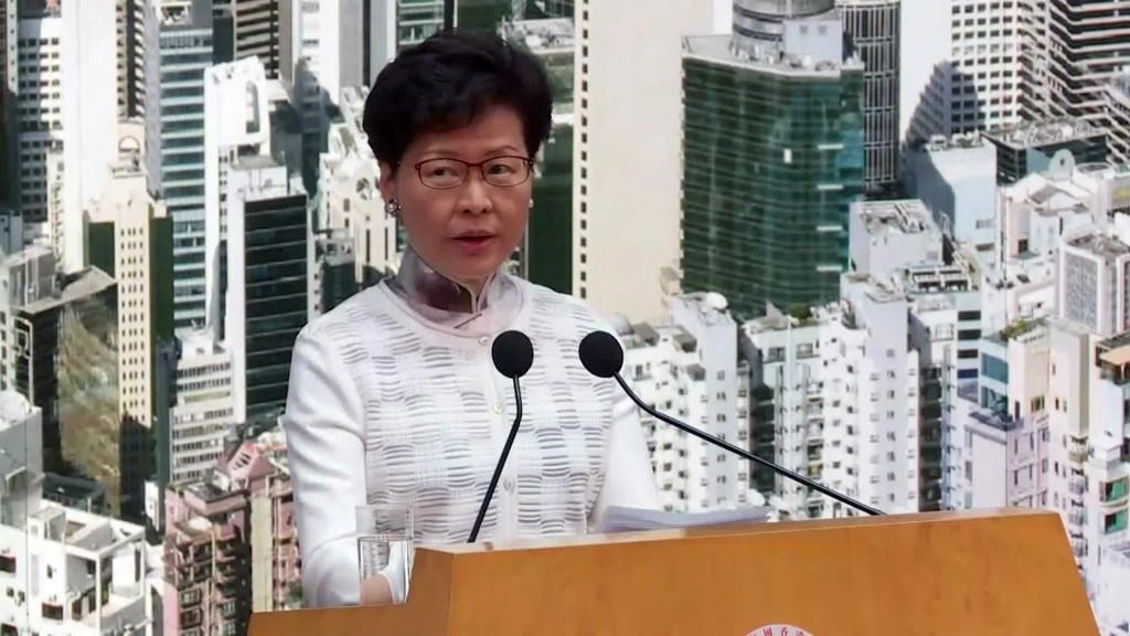 Beijing says it will change how Hong Kong's leader appointed
