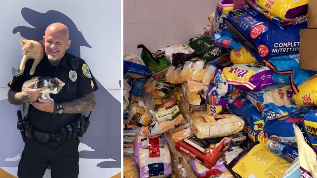 Police department asks for cat food instead of cash for parking tickets