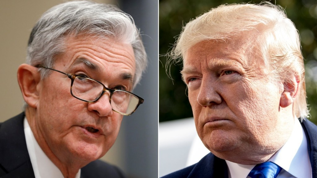 Even an unusual Trump-Powell meeting can't spook investors right now